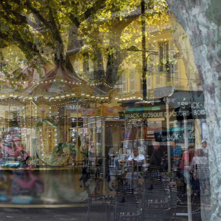 carousel-merry-go-round-evening-light-France