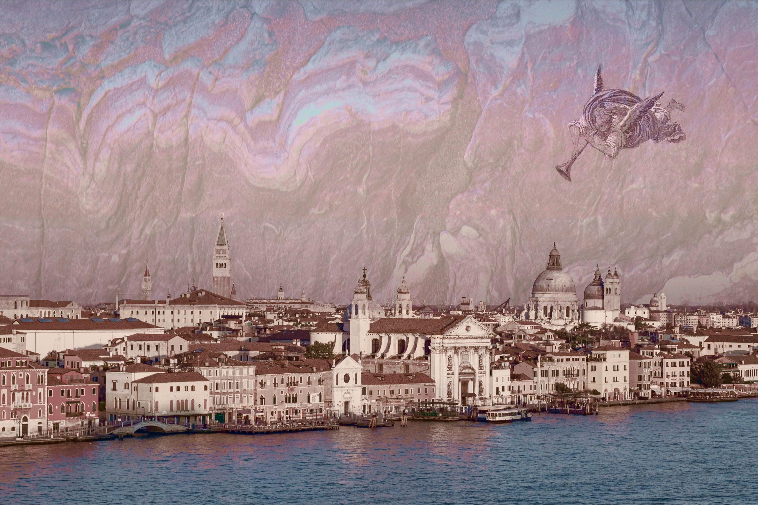 Cherub over Venice