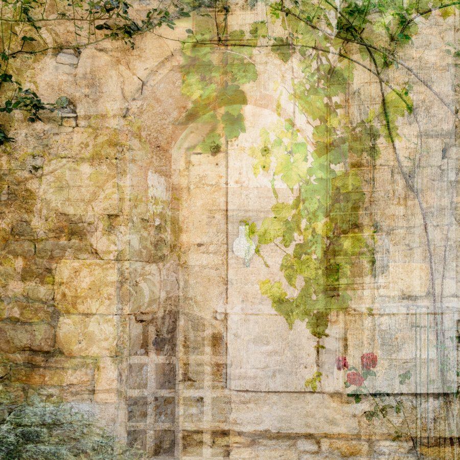 archway-secret-garden-rose-golden-stone-wall