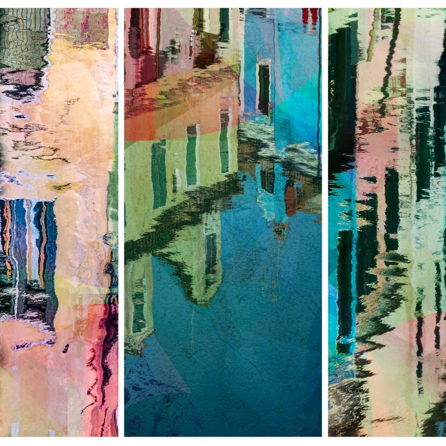 trio-triptych-abstract-colourful-burano-venice-reflections