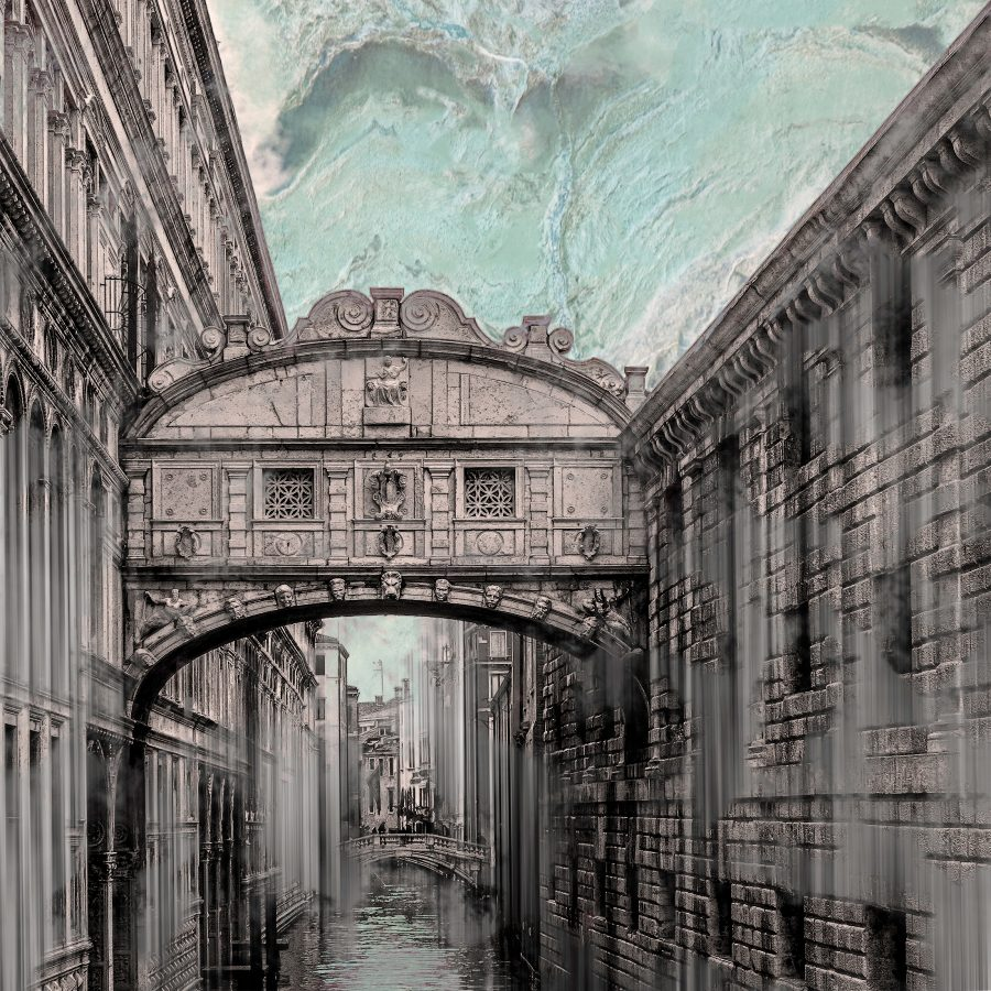 venice-architectural-bridge-sighs-green-marble-sky