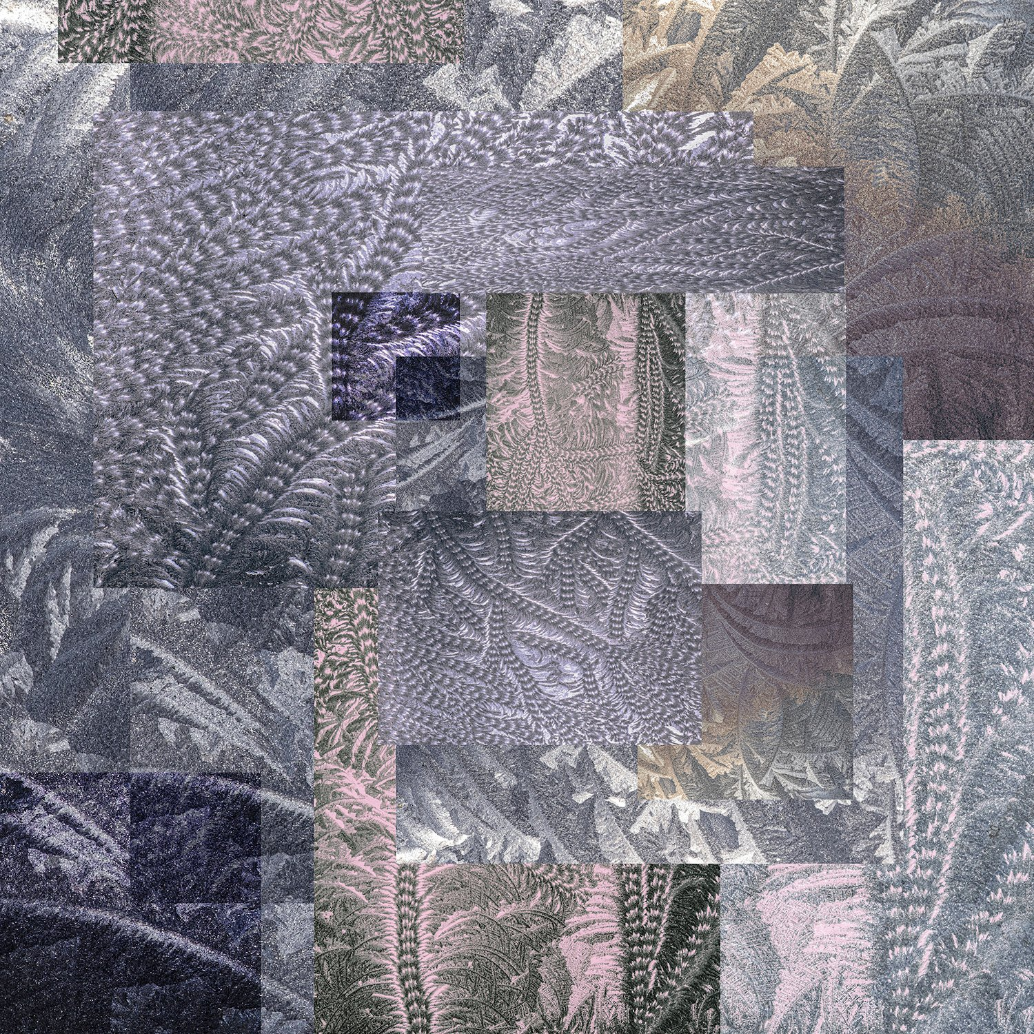 collage-shapes-textures-frost-patterns-pale-ombre-dark-purple-pressed-glass-pink-fern-scroll